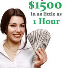 1 hour cash advance