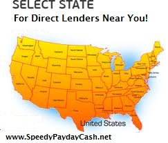 Speedy Cash Direct Lender States